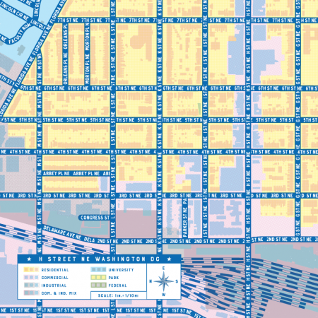 H Street Map (cropped)