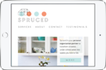 Spruced Website (full width)